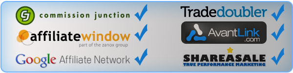 Recommended Affiliate Networks